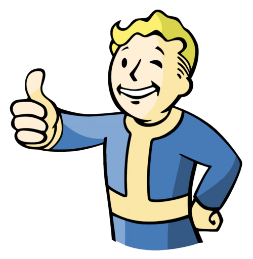 Vault Boy With Gun Vault Boy The Fallout Wiki