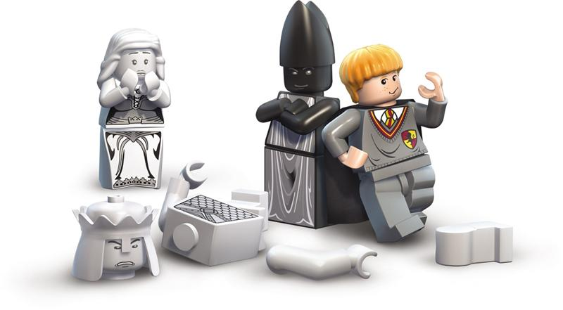 Lego Office Chair Lego harry potter: years 1-4