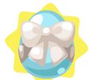 White Ribbon Egg