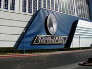 Star Trek-The Experience sign