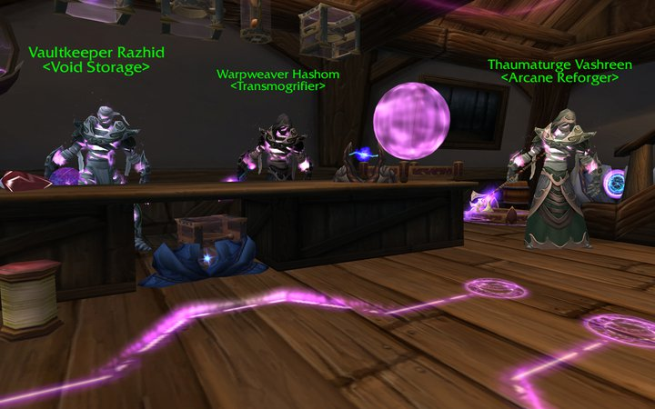 Transmogrifier - WoWWiki - Your guide to the World of Warcraft
