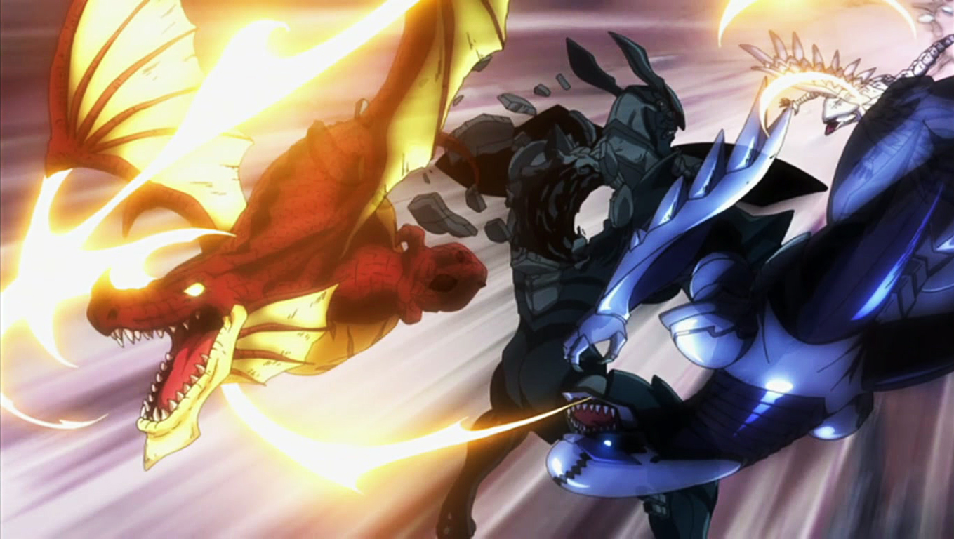 Natsu Dragneel, Gajeel Redfox & Wendy Marvell vs. Faust ...