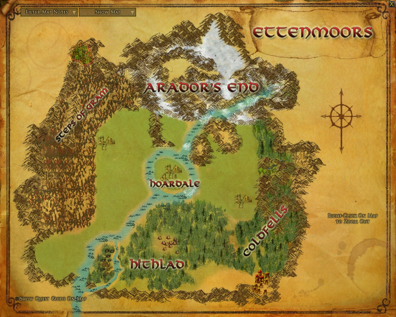 Where Is The Shire Located In Lord Of The Rings