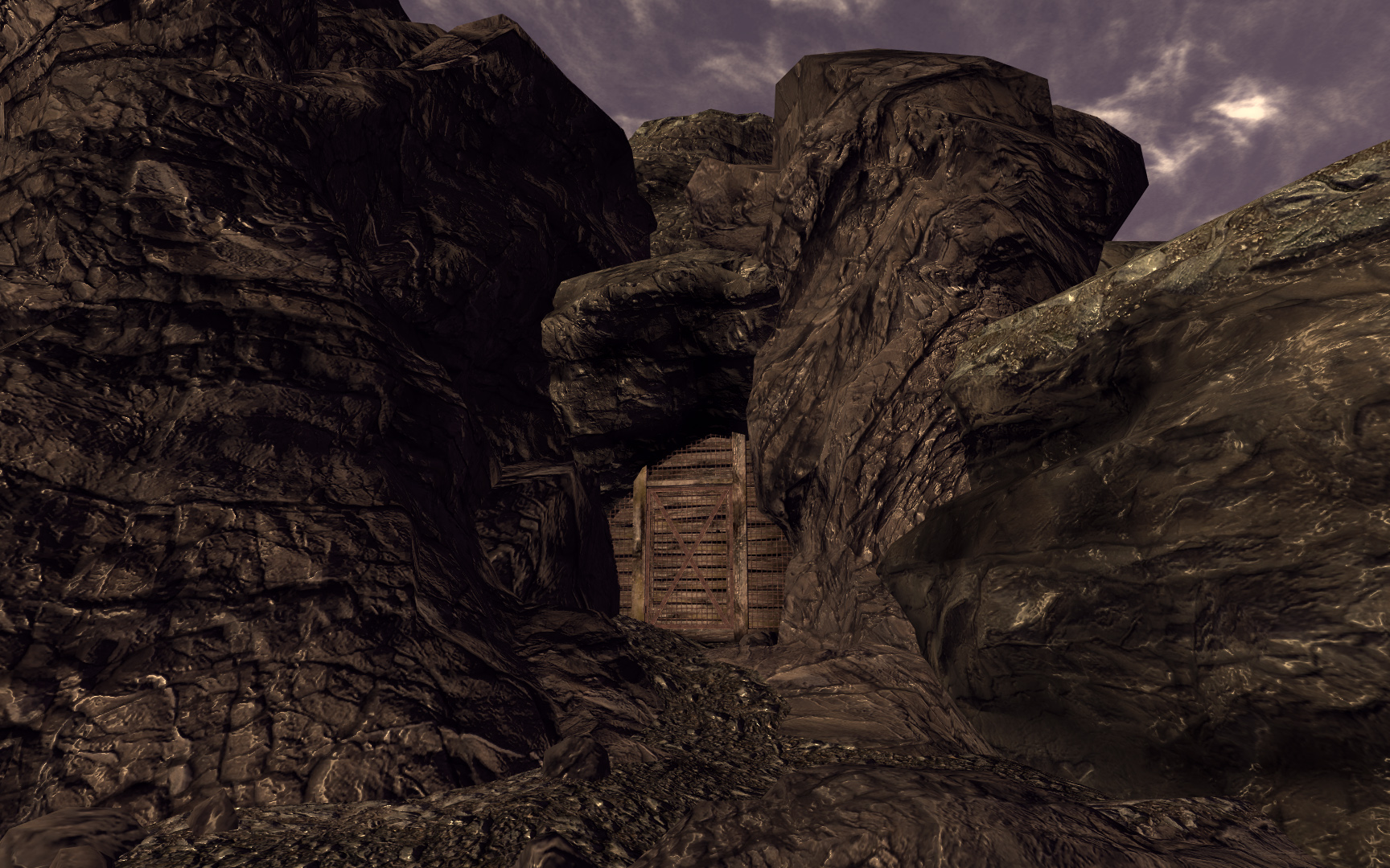 Mysterious cave The Fallout wiki Fallout New Vegas