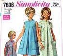 Simplicity 7606 A