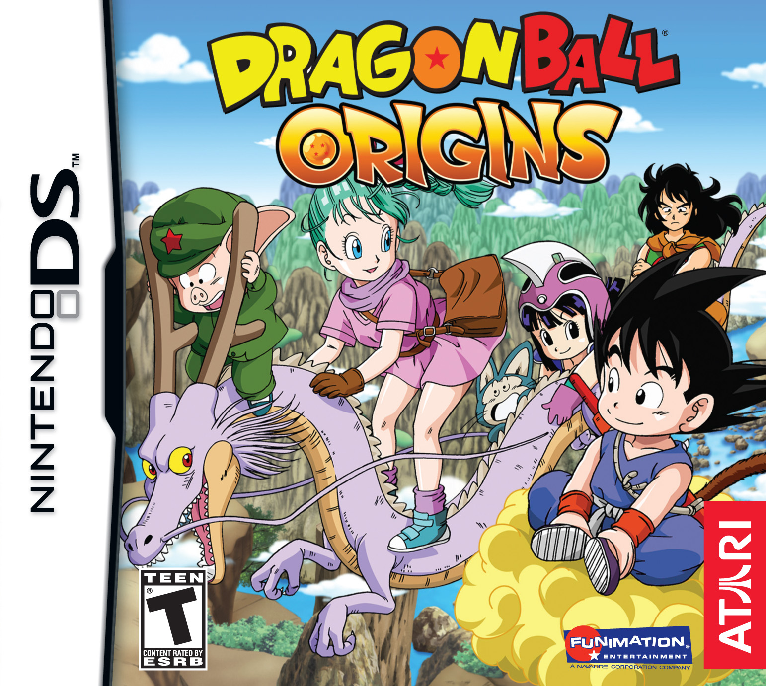 Dragon Ball Orgins [EUR] [Español] [PC + Emulador] [NDS]