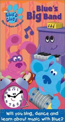 Blue S Big Band Vhs Blue S Clues Wiki