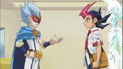 Yuma meets Fuya