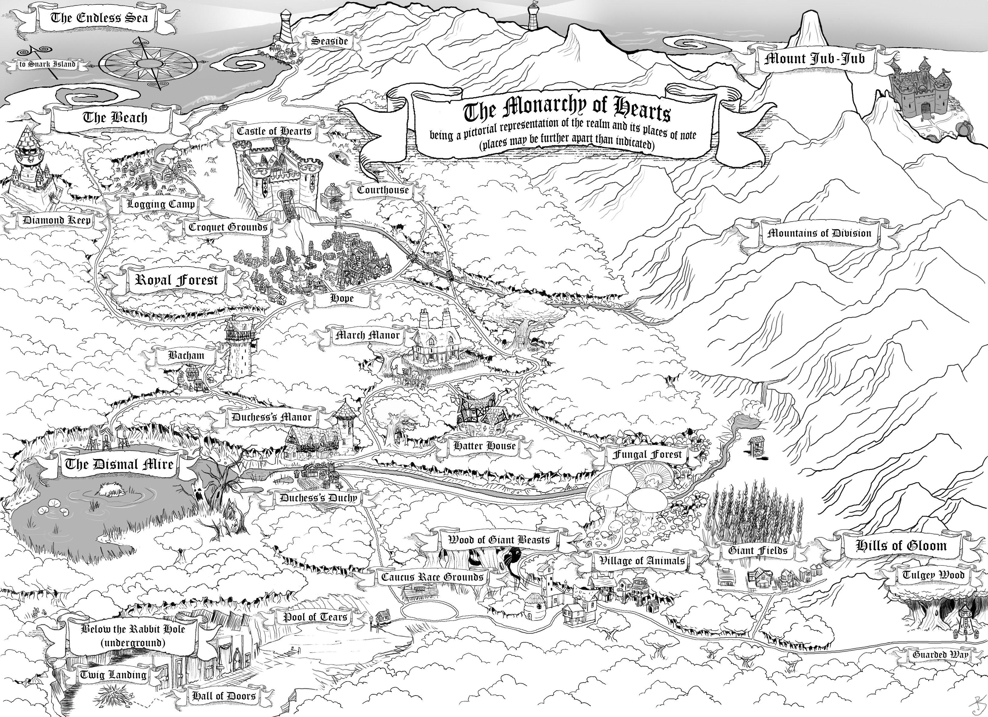 Huckleberry Finn Map Of Journey