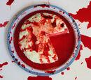 Raining Blood Red Velvet Cake