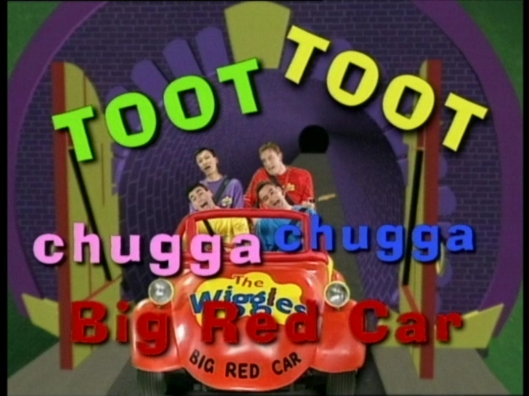 The Wiggles Where's Jeff Big Red Car Ride | Big Car