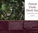 Poison Dusk Black Sun