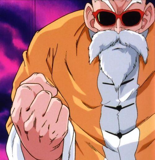 dragon ball master roshi
