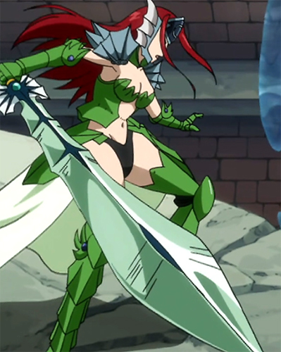 Fairy Tail Erza Sea Empress Armor Sea Empress Armor - Fa...