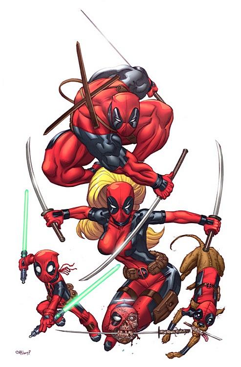 Deadpool - X-Men Wiki - Wolverine  Marvel Comics  OriginsX Men Deadpool Drawings