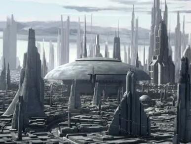 Coruscant - The Clone Wars
