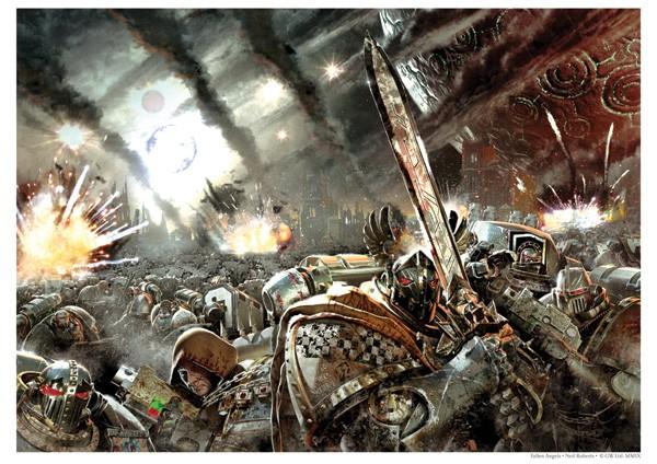 Aprita y Monte del Destino (El Bosque Esmeralda) Poster-Fallen-Angels