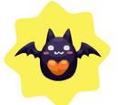 Halloween Bouncing Bat