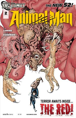 Cover for Animal Man #2 (2011)