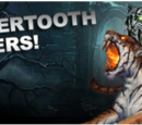 Sabertooth Tigers set