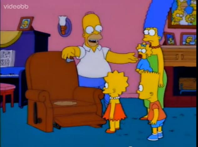 Lazy Man Toilet Seat Simpsons Wiki