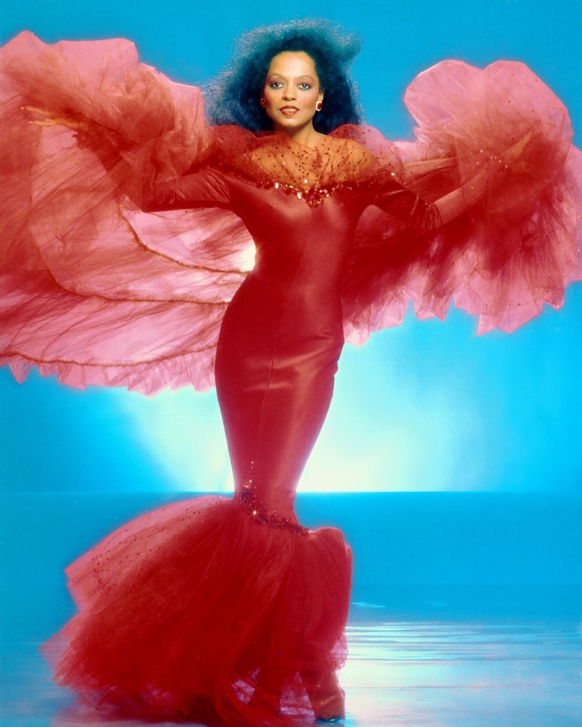 Diana Ross in a photo ...