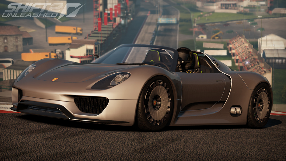 image shift2 unleashed porsche 918 spyder concept day at the need for speed wiki need. Black Bedroom Furniture Sets. Home Design Ideas