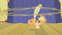 Applejack doing a trick S1E06