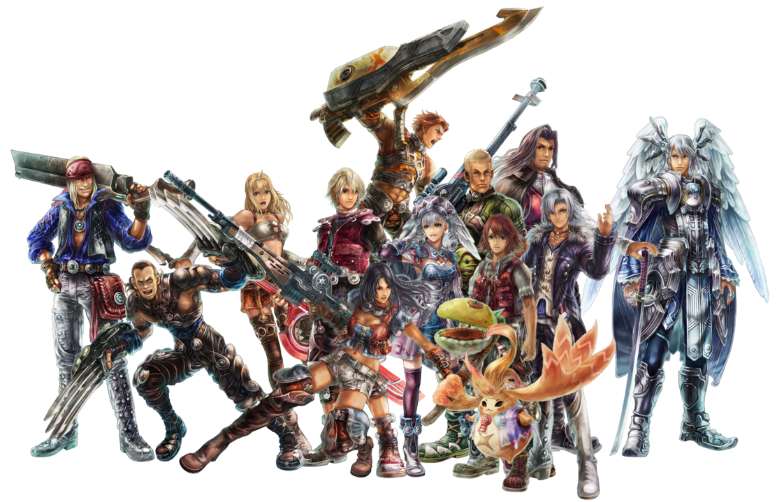 Characters in Xenoblade Chronicles  Xenoblade Chronicles Logo