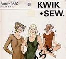 Kwik Sew 932
