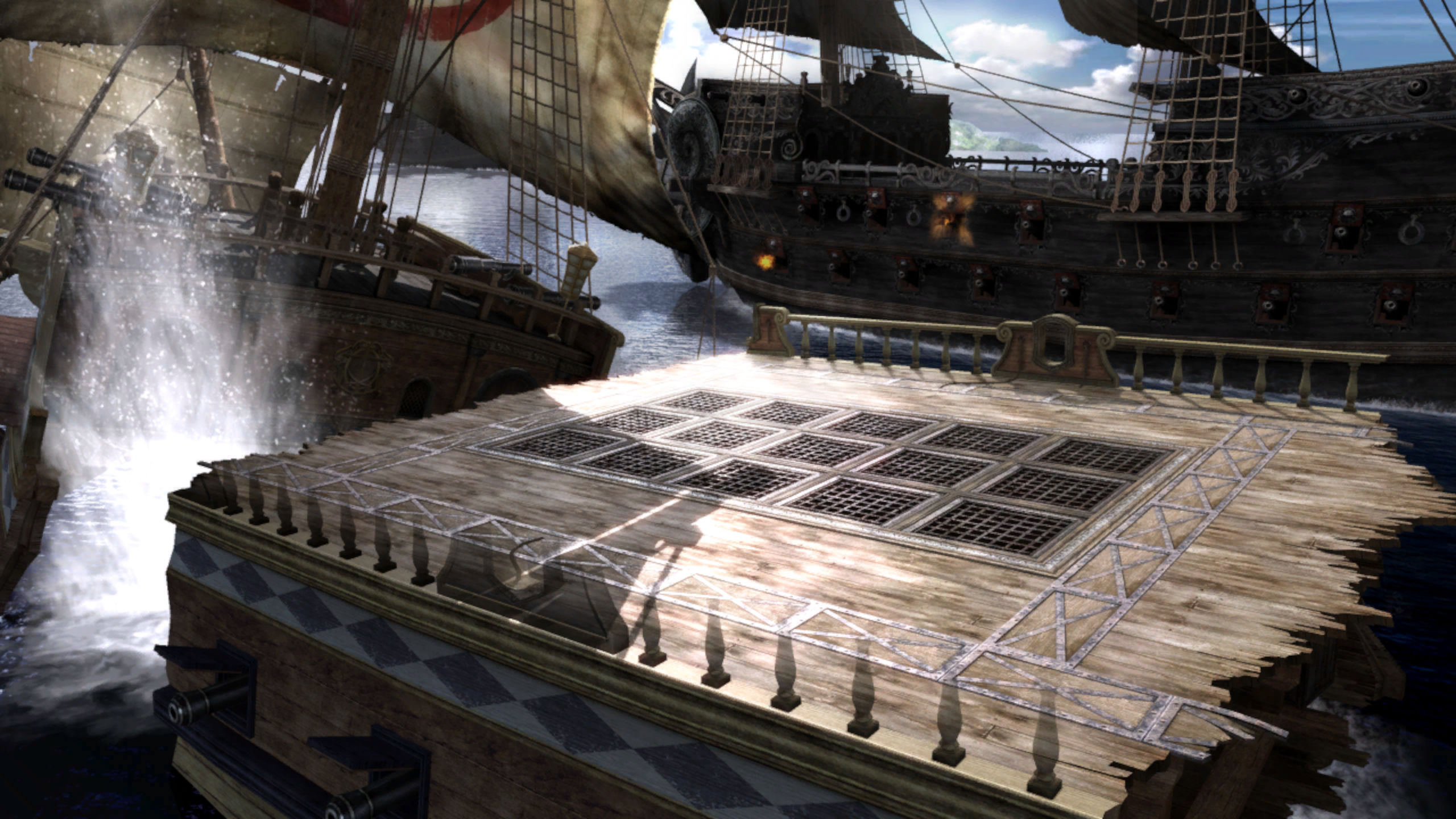 ghost pirate ship deck - photo #6