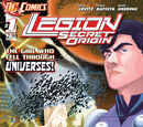 Legion: Secret Origin Vol 1