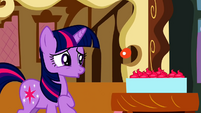Twilight not liking the cup