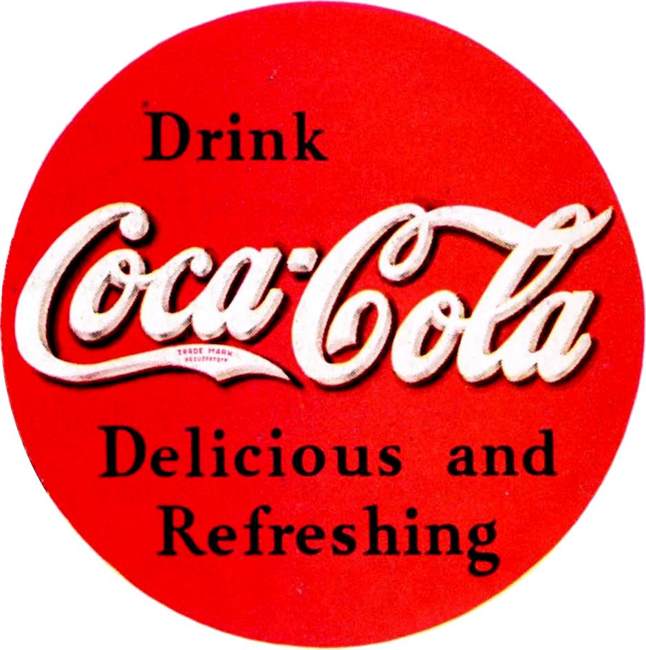 Coca Cola Classic Logo Coca Cola ad Logo 1934 Png