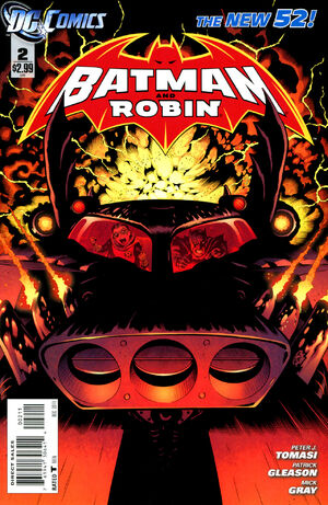 Cover for Batman and Robin #2 (2011)