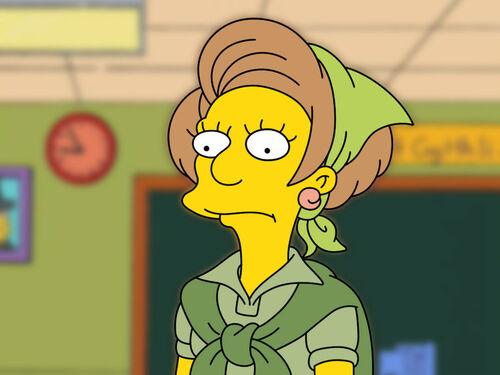 P Edna Krabappel The Simpsons By Franck