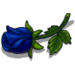 Black Rose Bud-icon