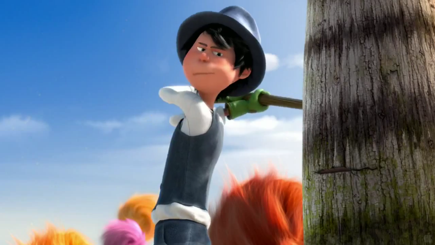 Younger Once-ler in The Lorax (film) .