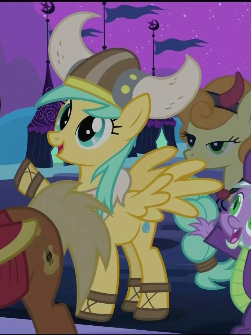 Image  Sunshower Raindrops in Viking costume S02E04png  My Little Pony Fri # Sunshower Pony_154015