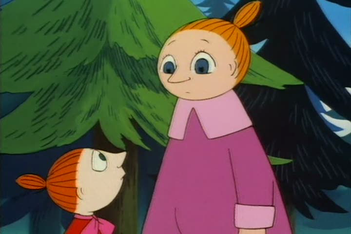 image   little my and mymble stare at each other png
