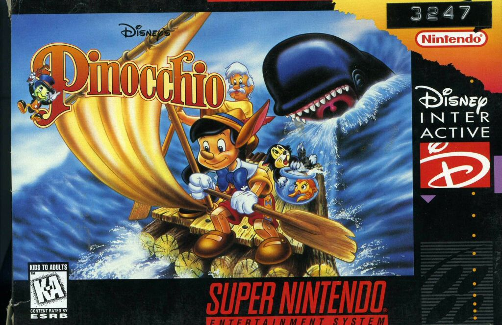 Pinocchio Video Game Disney Wiki