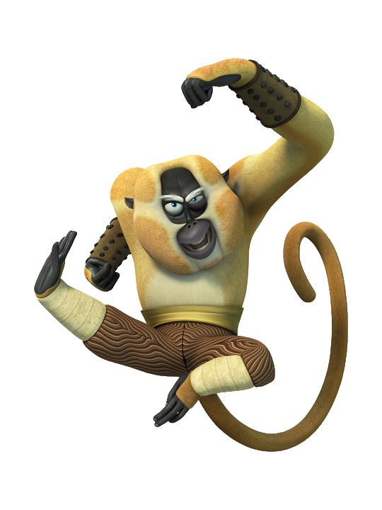 resim kung fu monkey 13 Kung Fu Panda Monkey Png O Dinosaursima