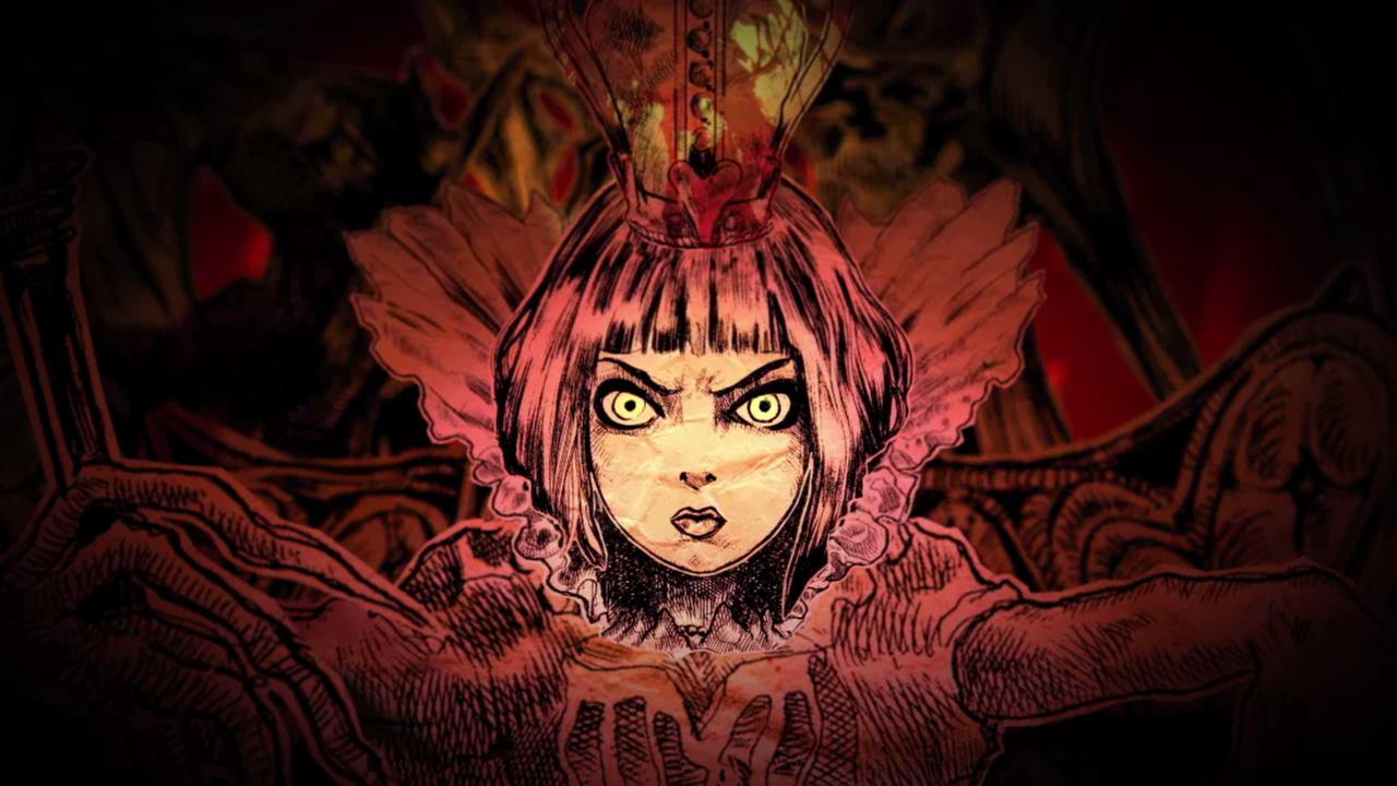 In the beginning, it is always dark.  Queen_of_Hearts