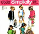 Simplicity 8568 A