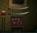 Conjunto de Armas Ninja