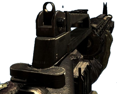 Image - M16A4 missing receiver MW2.png - The Call of Duty ... M16a4 Mw2