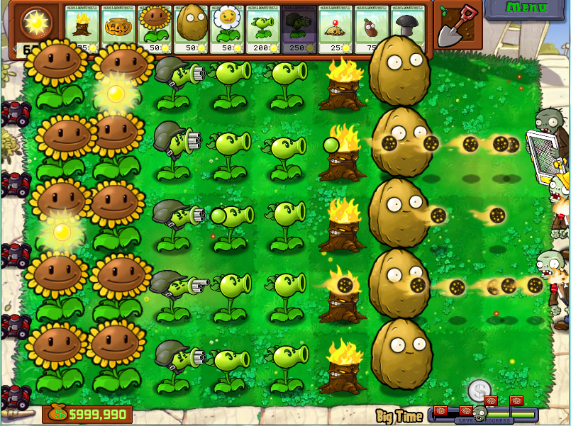 Big Time - Plants vs. Zombies Wiki, the free Plants vs ...