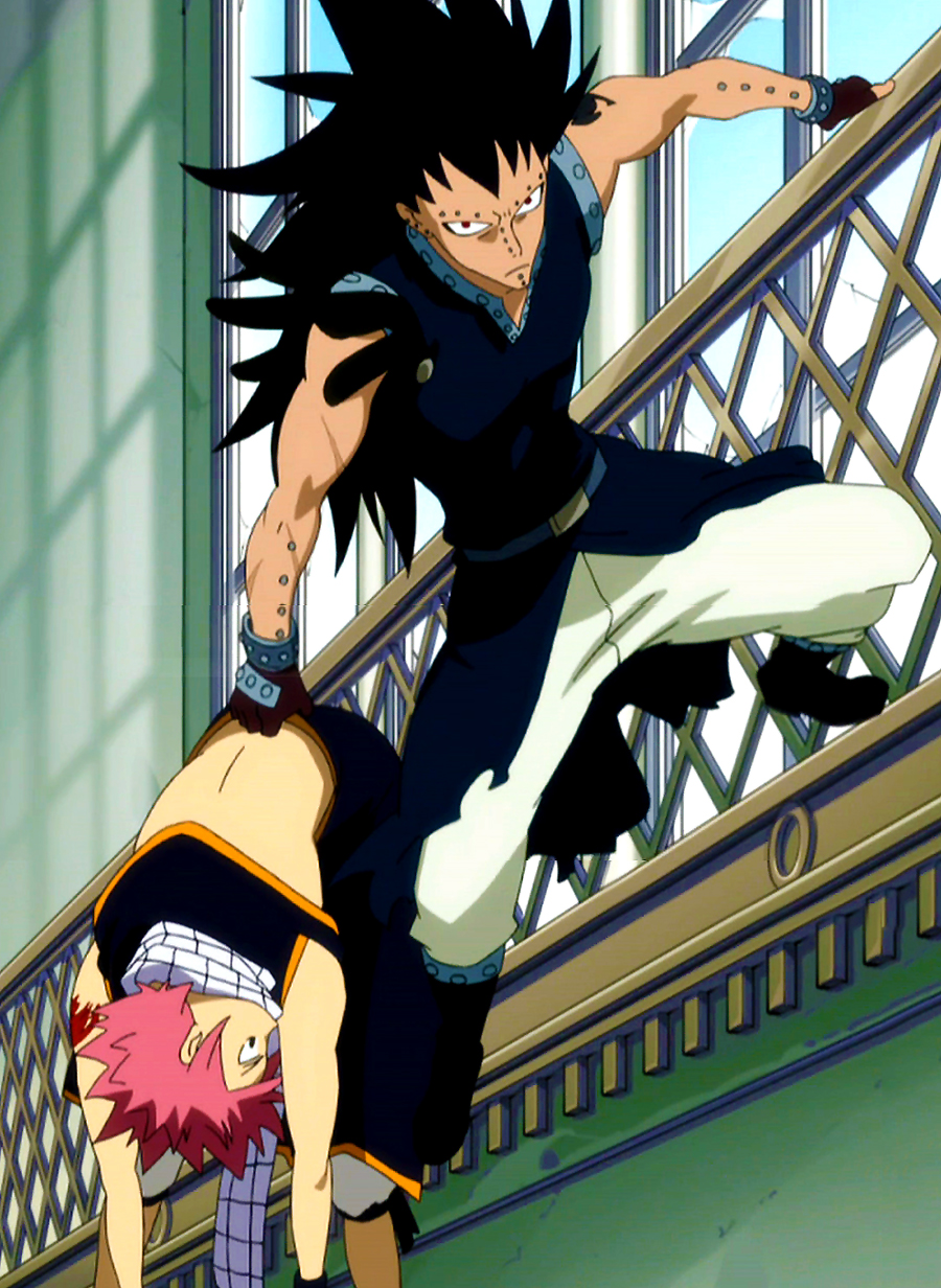 Gajeel saves - Image manga fairy tail ...