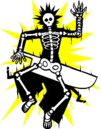 Ragna the Bloodedge (Sprite, electrocuted).png
