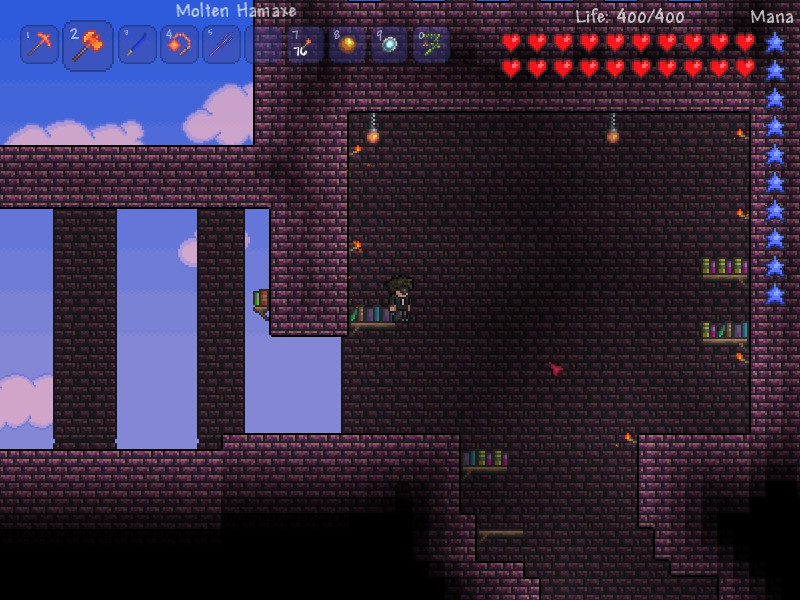 How To Craft A Bug Net In Terraria